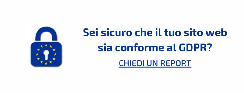 sito web conforme al gdpr consulente Gaetano Pastore