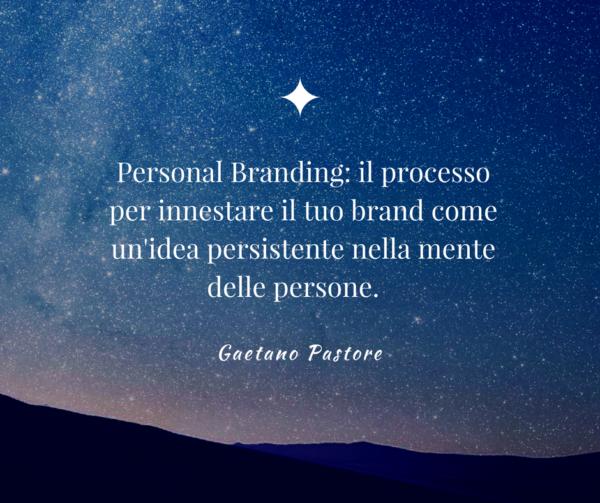 Definizione di Personal branding
